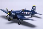 F4U Corsair m. 3X-Kreisel Hype Kyosho 027-1160
