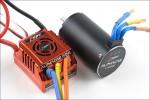 AlphaCar 1/8 BL S/L 80A /4168SL Motor Hype Kyosho 059-3080C