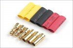 Goldkontaktstecker 3,5mm 3 Paar Hype Kyosho 086-1035