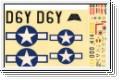 Dekorbogen Mustang M24 Kyosho 10231-07