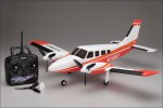 EP aiRium Piper PA34 VE29 Twin, rot Kyosho 10961RS-R