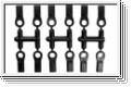 Kugelpfannen D6.8,M4 (12) Kyosho 1296