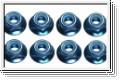 Stopmuttern M8, blau, (8) Kyosho 1359