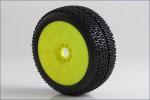 1:8 Buggy CITYBLOCK Soft EVO Wheel Pre-M Kyosho 14002SRY
