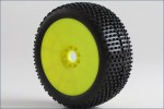 1:8 Buggy CROSSBRACE Soft EVO Wheel Pre- Kyosho 14004SRY