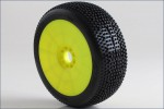 1:8 Buggy IMPACT Soft EVO Wheel Pre-Moun Kyosho 14007SRY