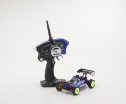 Mini-Z MB010S 4WD 1/24 INFERNO MP9 TKI3 BLAU/SCHWARZ - READYSET Kyosho 32081BB