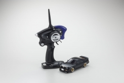 Mini-Z MA020 SPORTS 4WD NISSAN 180SX AERO (KT19) SCHWARZ (MIT LED) Kyosho 32135BK