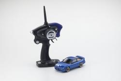Mini-Z MA020 SPORTS 4WD NISSAN SILEIGHTY (KT19) BLAU (MIT LED) Kyosho 32136BL