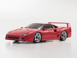 Mini-Z MR03 SPORTS 2 FERRARI F40 ROT (W-RM/KT19) Kyosho 32227R