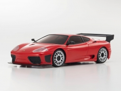 Mini-Z MR03 SPORTS 2 FERRARI 360 GTC ROT (W-RM/KT19) Kyosho 32238R