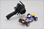 Mini-Z Buggy OPTIMA blau/weiss Kyosho 32281BW