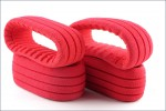1:8 TRUGGY SHAPED INSERT GROOVED RED Kyosho 34101S