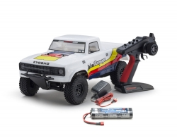 OUTLAW RAMPAGE 1:10 EP 2WD TRUCK (KT231P) T1 WEISS READYSET Kyosho 34361T1B