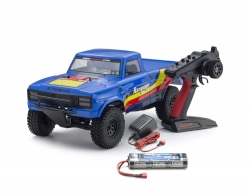 OUTLAW RAMPAGE 1:10 EP 2WD TRUCK (KT231P) T2 BLAU READYSET Kyosho 34361T2B