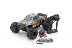 MONSTER TRACKER 1:10 EP (KT232P) - T2 ORANGE READYSET Kyosho 34403T2B