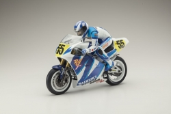 MOTORRAD HANGING ON RACER SUZUKI RGV 1992 KIT Kyosho 34931B