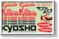 Dekorbogen Racing Kyosho 39186-01