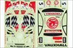 Dekorbogen 1/10 Vauxhall Astra Kyosho 39241-01B