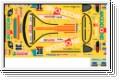 Dekorbogen 1/10 Toyota Supra Woodone Kyosho 39254-01