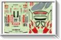 Dekorbogen 1/10 Nissan Skyline Motul Kyosho 39256-01