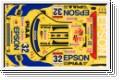 Dekorbogen 1/10 Honda NSX Epson Kyosho 39258-01