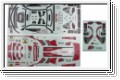 Dekorbogen Audi A4 DTM Team Abt Kyosho 39281-01