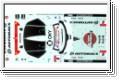 Dekorbogen Arta NSX GT500 2007 Kyosho 39287-01