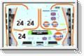 Dekorbogen 1:10 Gulf Racing Le Mans 1995 Kyosho 39293-01