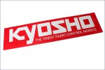 Dekorbogen KYOSHO Logo 106x35 Kyosho 87002