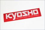 Dekorbogen KYOSHO Logo 360x90 Kyosho 87004