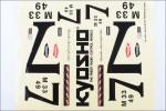 Dekorbogen Kyosho A1079-03