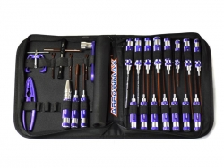AM TOOLSET FOR OFFROAD (25PCS) WITH TOOLS BAG Kyosho AM199403