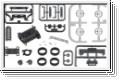 Armaturteile Porsche 962C Kyosho DNP-601