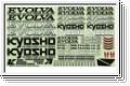Dekorbogen EVOLVA Kyosho FM-500-01