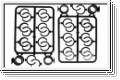 Plastikteile Daempfer Kyosho IF-346-06