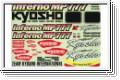 Dekorbogen MP777 Kyosho IFB-001-01