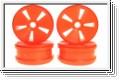 Felge MP777, fluo. orange (4) Kyosho IFH-001KO