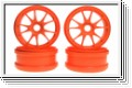 Felge MP777, fluo. orange (4) Kyosho IFH-002KO