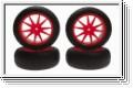 Reifensatz Micro-X, orange (4) Kyosho IHTH-05KO