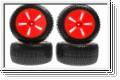 Reifensatz Mini Inferno ST, orange (4) Kyosho IHTH-30KO