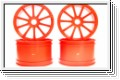 Felge 10-Speichen, orange (4) Kyosho ISH-50KO