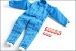 Rennanzug Blau Kyosho KTW-09BL