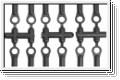 Kugelpfannen D5.8,M3, hart (12) Kyosho LA-43H