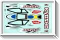 Dekorbogen LAZER ZX-5, Typ 2 Kyosho LAD-102