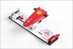 Frontfluegel 1:24 Ferrari F10 No. 7 Kyosho MFB-44-02F