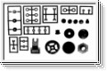 Getriebezahnraeder Satz Kyosho MM-09