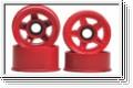 Felge 1:24,5-Stern,rot 8,5/11mm (4) Kyosho MZ-26R