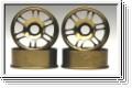 Felge 1:24,7-Speichen,bronze 8,5mm (4) Kyosho MZH-05