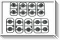 Felge 1:24, MR-15/02 MultiOffset,gr.(18) Kyosho MZH-130G